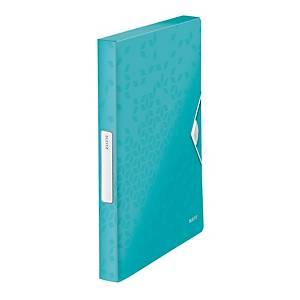LEITZ 4629 WOW 박스화일 아이스블루