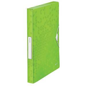 Leitz WOW iratgyűjtő mappa, zöld