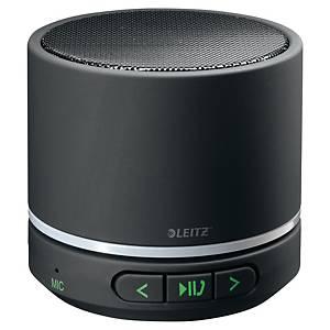 Mini haut-parleur portable Bluetooth Leitz avec lecteur MP3 intégré, noir