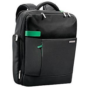 Rucksack Leitz 6017 Smart Traveller, für Notebooks, 15,6 Zoll schwarz