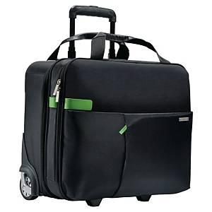 Rollkoffer Leitz 6059 Smart Traveller, für Notebooks bis 15,6 Zoll, schwarz