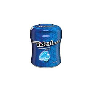 Caixa 61 pastilhas elásticas Trident - drageias - sem açúcar - menta