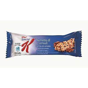 Caja 30 barritas cereales con chocolate y leche Kellogg s Special K - 20 g