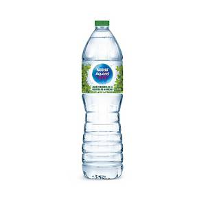 Pack de 12 botellas de agua Nestlé Aquarel - 1,5 L