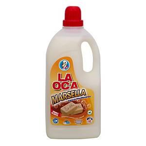 Detergente líquido La Oca para ropa - aroma jabón de Marsella - 3 L