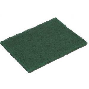 Pack de 10 esfregões cortados Vileda - 230 x 150 mm - verde