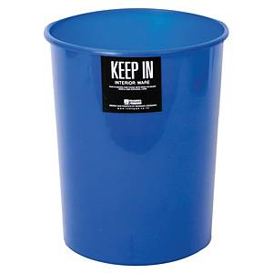 KEEP IN RW 9073 Litter Bin 8 Litres Navy Blue
