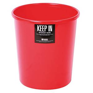 KEEP IN RW 9072 Litter Bin 5 Litres Red
