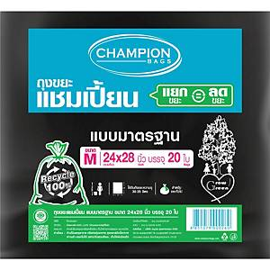 CHAMPION Waste Bag 24X28 inches Pack of 20