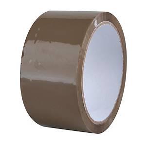 Havana packing tape, 48 mm x 66 m, 40 μm, brown
