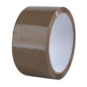 Havana packing tape, 48 mm x 66 m, 40 μm, brown