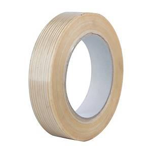 Balicí páska Filament, 25 mm x 50 m, béžová