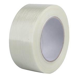 Balicí páska Filament, 50 mm x 50 m, průsvitná