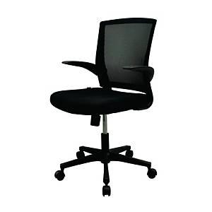 WORKSCAPE เก้าอี้สำนักงาน FAY STAFF ZR-1012 สีดำ