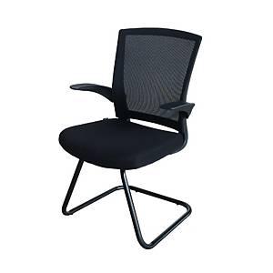 ZINGULAR เก้าอี้สำนักงาน รุ่น FAY GUEST ZR-1012G สีดำ