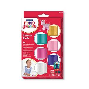 Staedtler Fimo Kids pâte à modeler colourpack 42 couleurs girl