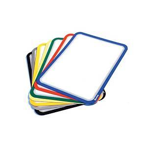 Pack de 2 bolsas magnéticas Magneto - A4 - PVC - amarelo