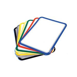 Pack de 2 fundas magnéticas Magneto - A4 - PVC - amarillo