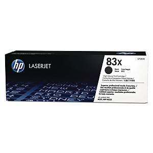 HP 83X High Yield Black Original Laserjet Toner Cartridge (CF283X)