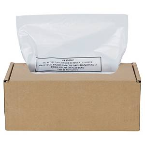 Abfallbeutel für Fellowes Automax 300/500C Aktenvernichter, 75 l, 50 Stück