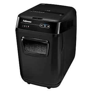 Fellowes Automax 200C Autofeed Shredder Cross Cut P-4 32L