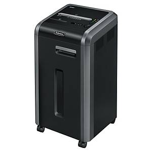 Fellowes Powershred 225 ci autofeed shredder cross-cut - 22 pag - 6 to 10 users