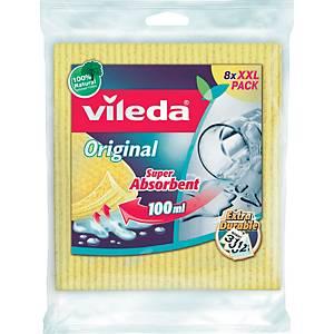 Schwammtuch Vileda 142274 Aqua, sortiert, 8 Stück