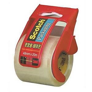 3M 박스테이프 디스펜서 132D + 투명 박스테이프