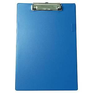 Portablocco con clip PVC 570A A4 blu