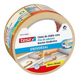 Nastro biadesivo resistente universale Tesa L 10 m x H 50 mm