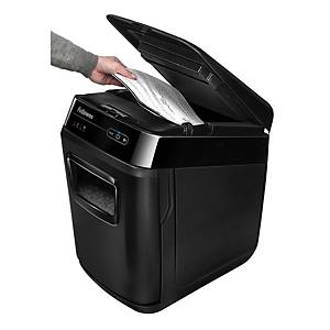 Destruidora de papel Fellowes AutoMax™ 150C - corte transversal