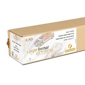 Rollo papel para plóter alta blancura Canson CAD 872100 - 36 - 90 g/m2