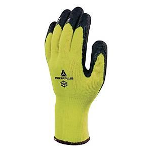 Zateplené rukavice DELTAPLUS APOLLON WINTER VV735, velikost 10, žluté