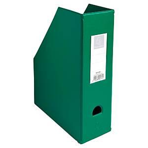 Porte-revues pliable Exacompta - dos 10 cm - vert