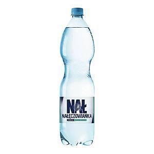 Woda mineralna NAŁĘCZOWIANKA delikatnie gazowana, zgrzewka 6 butelek x 1,5 l