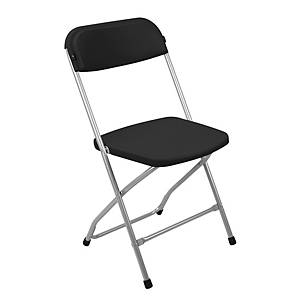 Skládací židle Medina, černá