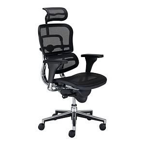 Krzesło NOWY STYL Cambio Duo Steel, czarne