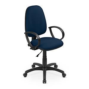 Flox irodai szék, permanens mechanika, kék