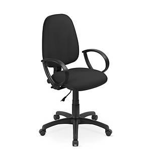 Kancelárska stolička Nowy Styl Flox, čierna