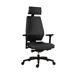 OFF CHAIR 1870 SYN MOTION PDH  BN6 GREY