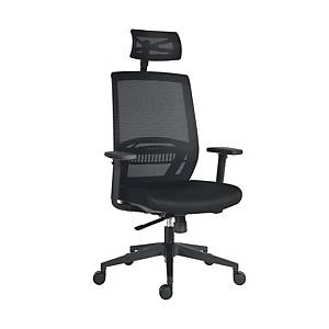 ANTARES OFFICE CHAIR ABOVE MASH BLACK