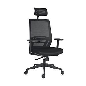 Antares Above mesh irodai szék, szinkron, fekete