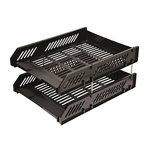 HR223 A4 Double Tray Black