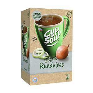 Cup-a-Soup drinkbouillon rund, doos van 26 zakjes