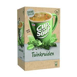 Cup-a-Soup drinkbouillon tuinkruiden, doos van 26 zakjes
