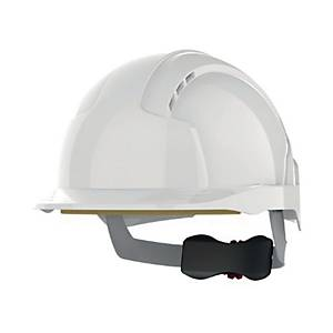 Casque de sécurité JSP EVOLite - ventilé - serrage crémaillère - blanc