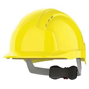 Casque de sécurité JSP Evolite, plage de réglage 53-64cm, jaune