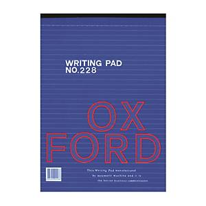 Oxford 228 Writing Pad F4