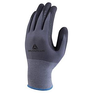 DELTAPLUS VE727 PU COATED GLOVE WITH NITRILE MICRODOTS SIZE 9 (PAIR)