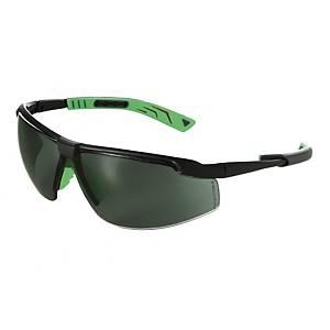 Occhiali di protezione Univet 5x8 lente verde